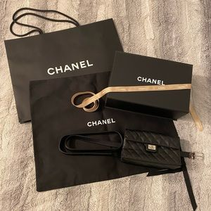 COPY - Chanel leather fanny pack